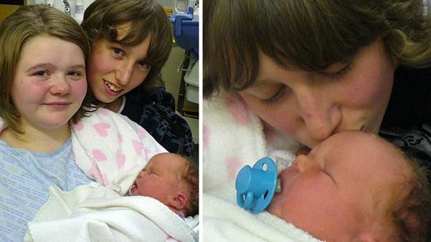 Nathan Fishbourne a mladá April Webster.