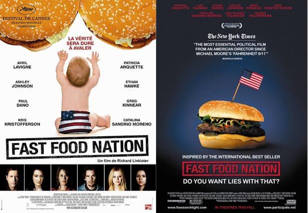 Který z plakátů Fast Food Nation se vám líbí víc?