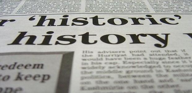 Čtení novin je nedílnou součástí studia.