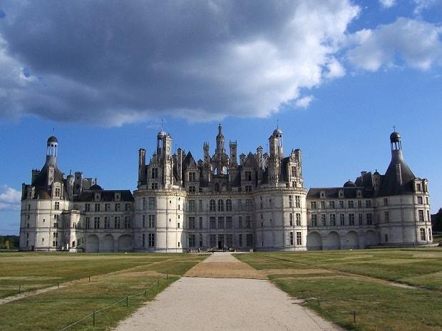 Francouzský zámek Chambord.