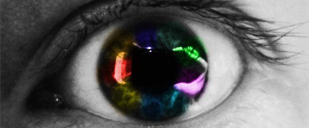 Člověk je schopný vnímat barvy už od prvních okamžiků po narození.
