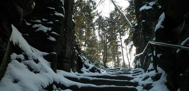 Nekonečné schody.