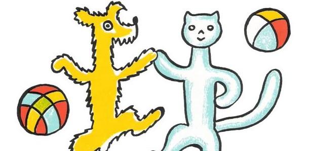 A ještě jednou hvězdné duo Pejsek a Kočička.