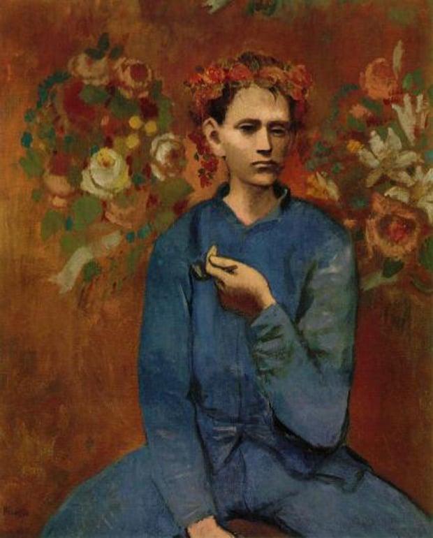 Pablo Picasso - Chlapec s dýmkou