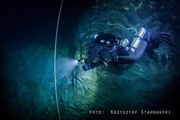 Ne vždy se potápěči setkávají se skvělou viditelností.