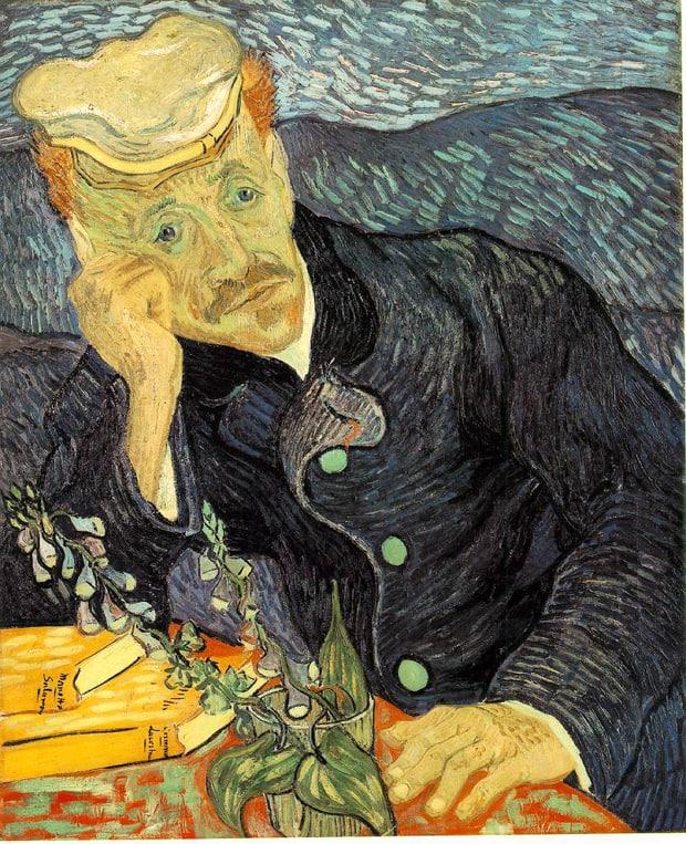 Van Gogh - Portrét doktora Gacheta