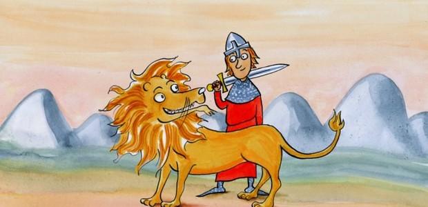 Bruncvík zachránil lvovi život.