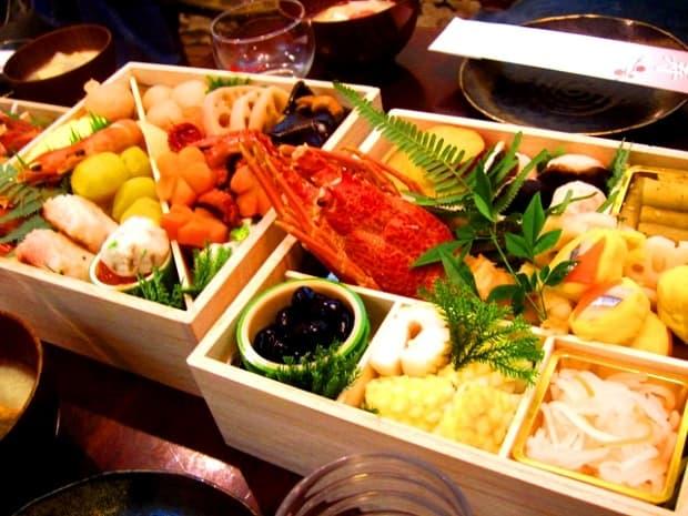 Ryby, rýže, zelenina.