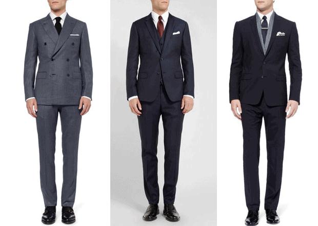 Semi-Formal oblek.