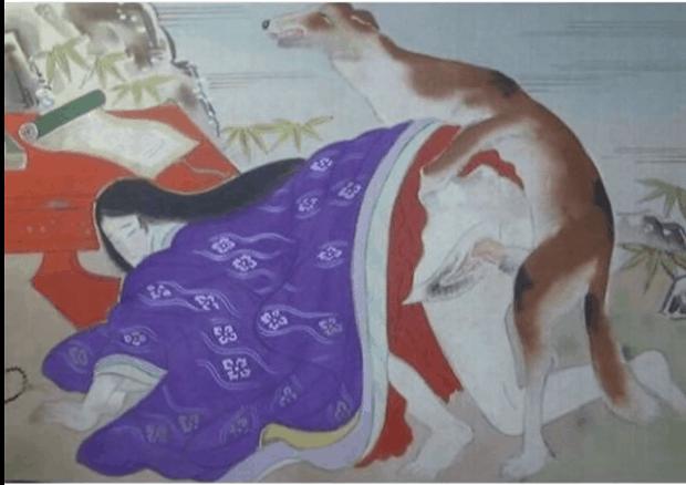 Ani sex se zvířaty není Japoncům cizí...