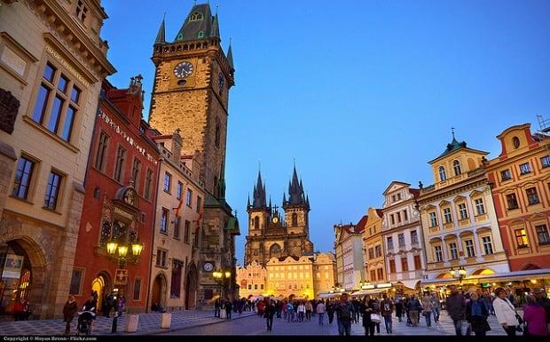 Praha se může pochlubit krásným historickým centrem.