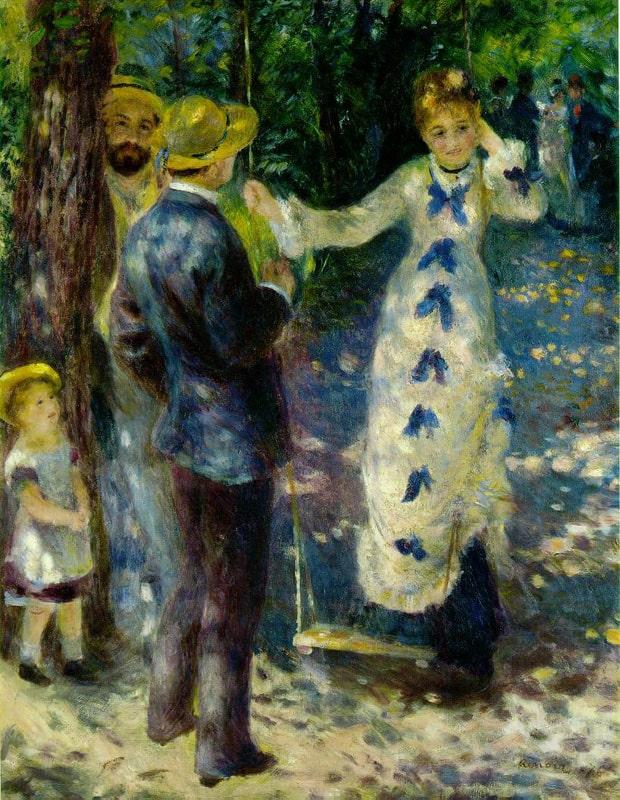 Auguste Renoir - Houpačka