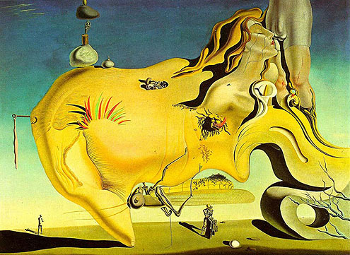 Salvador Dalí, The Great Masturbator