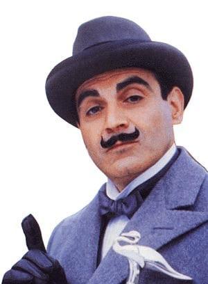 Hercule Poirot.