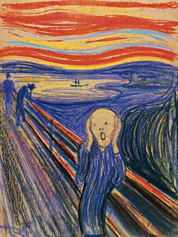 Edvard Munch - Výkřik