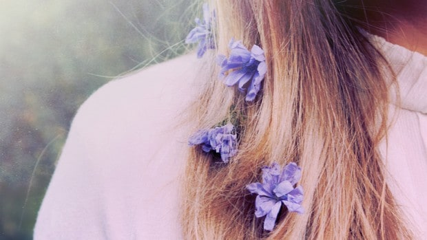Nejkrásnější vlasy jsou nebarvené vlasy.