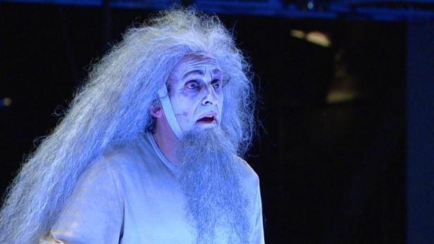 Král Lear v podání Národního divadla.