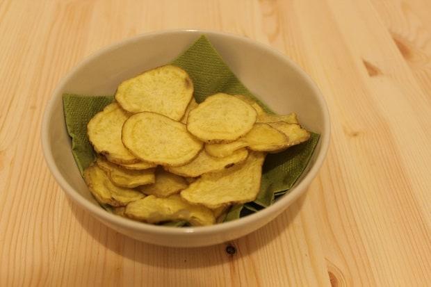 Domácí chipsy.