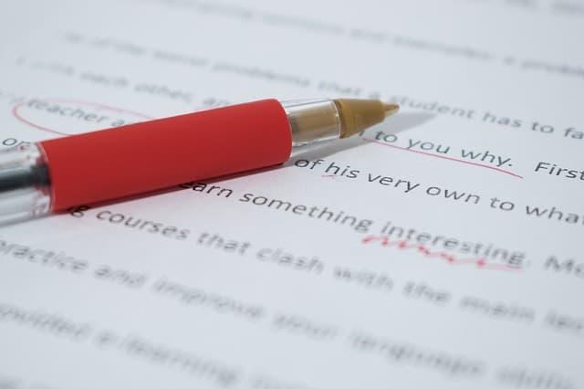 Motivační dopis - překlepy a chyby