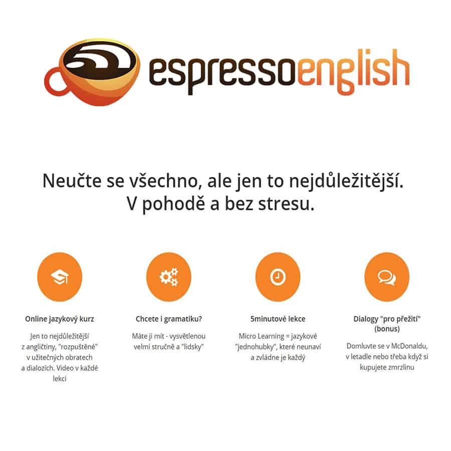 Recenze Espresso English