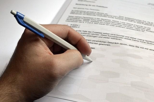 Co má obsahovat motivační dopis