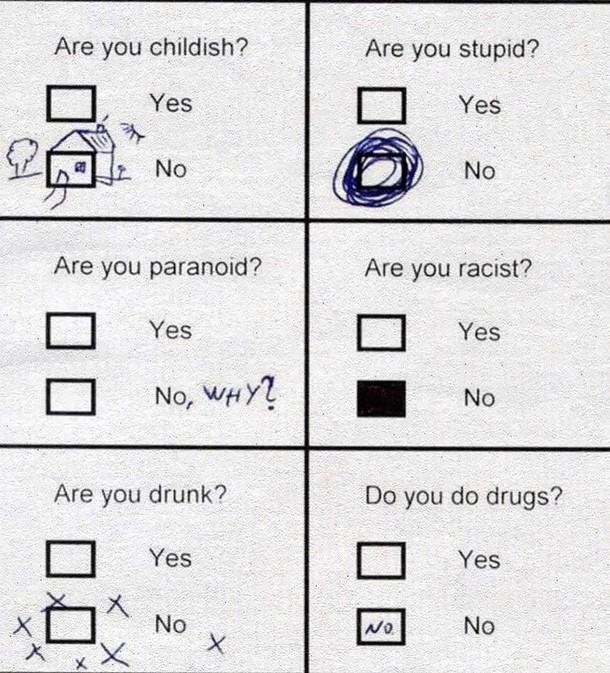 psychologické testy