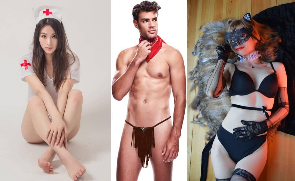 Erotické kostýmy pro dámy i pány