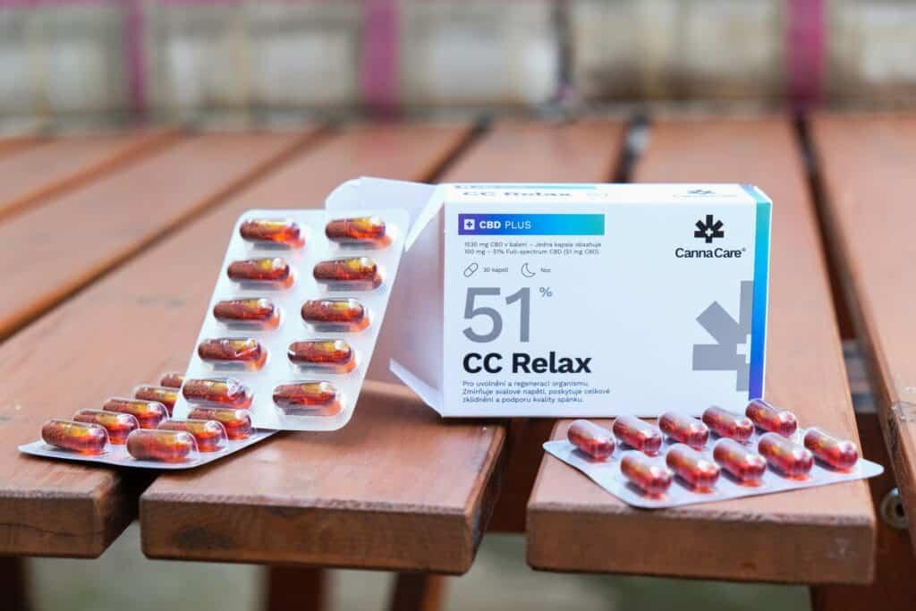 balení CBD CannaCare Relax