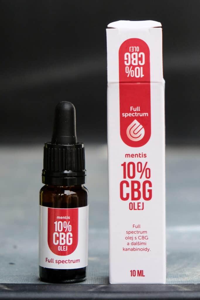 recenze a test na cbd olej 10% mentis lab